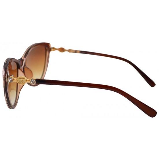 Ochelari de soare Ochi de pisica Cat eye III - Maro