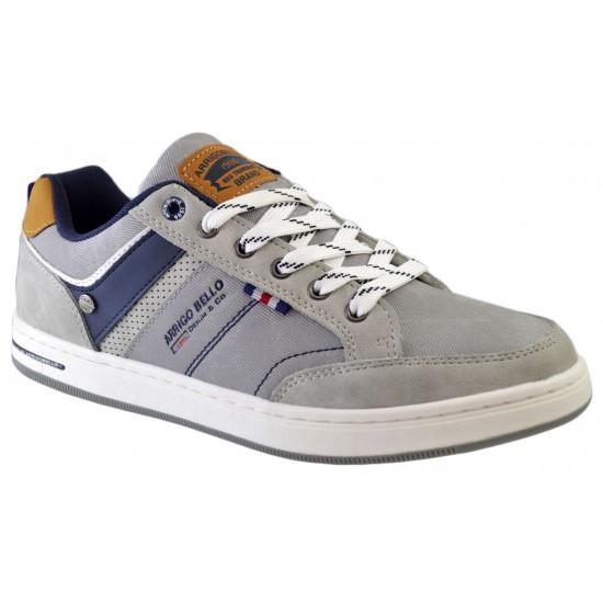 Pantofi Casual pentru Barbati, Gri, Arrigo Bello, ideali pentru mers dar si activitati recreative