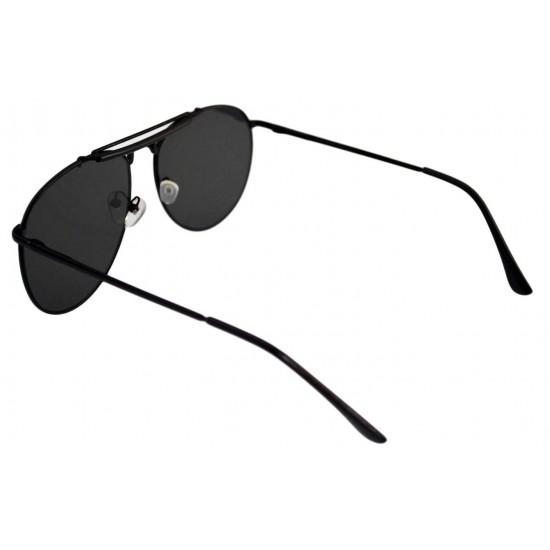Ochelari de soare Aviator Outdoorsman Negri cu Rama Neagra II