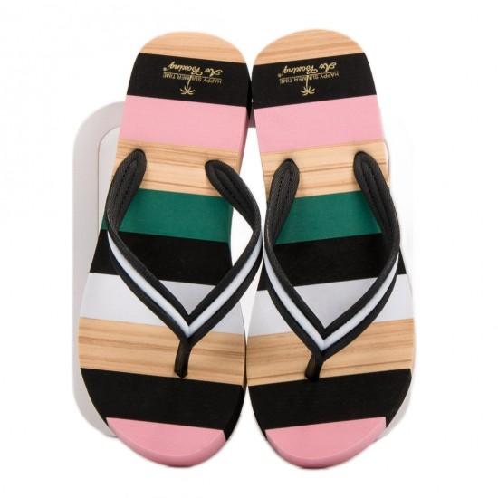 Slapi de plaja, gradina sau sala, femei, multicolor, papuci casual - Zanzibar Relax