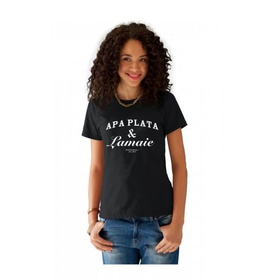 Tricou Apa Plata si Lamaie - Negru