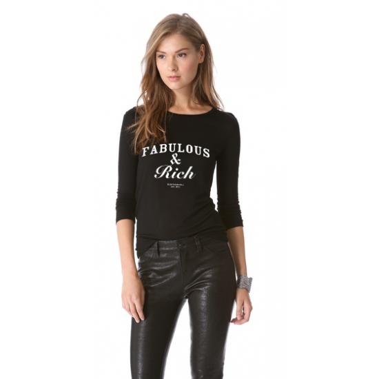Bluza Fabulous & Rich - Negru