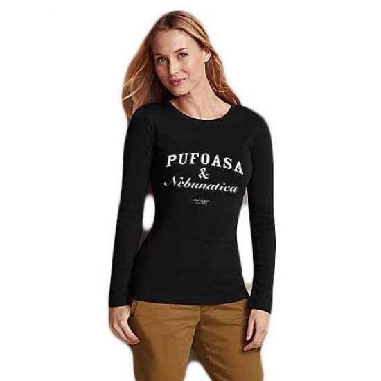 Bluza Pufoasa si Nebunatica - Negru