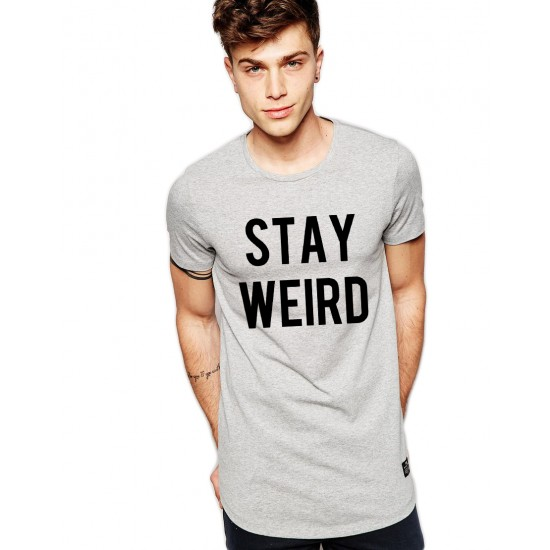 Tricou gri barbati - Stay Wired