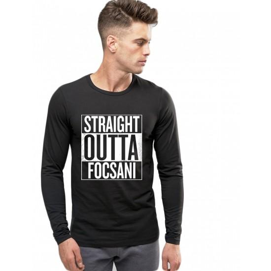 Bluza barbati neagra - Straight Outta Focsani