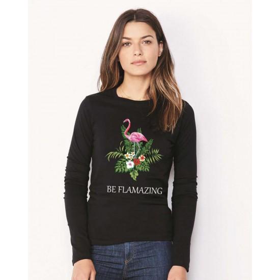 Bluza de dama neagra - Be Flamazing