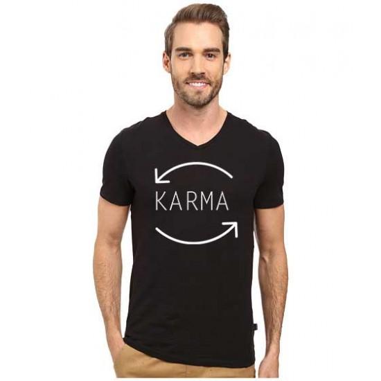 Tricou barbati negru - Karma