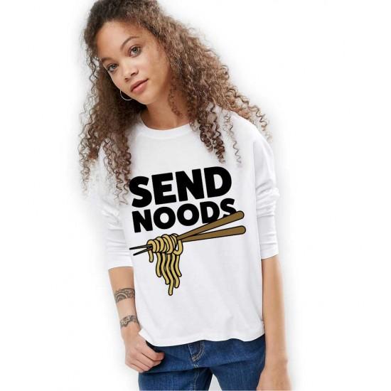 Bluza dama alba - Send Noods