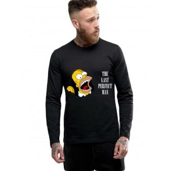 Bluza barbati neagra - Simpson