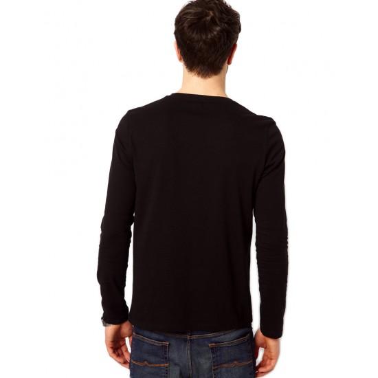 Bluza neagra, barbati, 50% Single