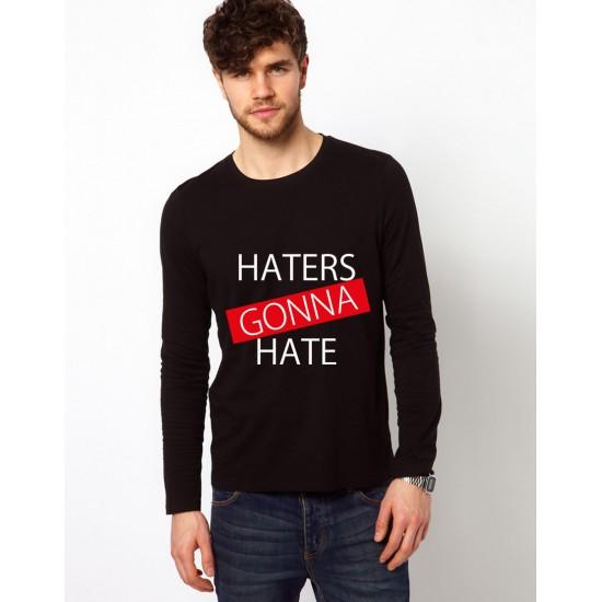 Bluza neagra, barbati, Haters