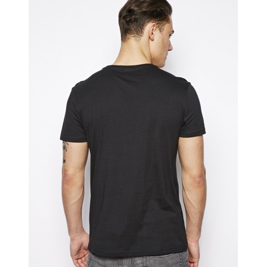Tricou Old Enough - Negru