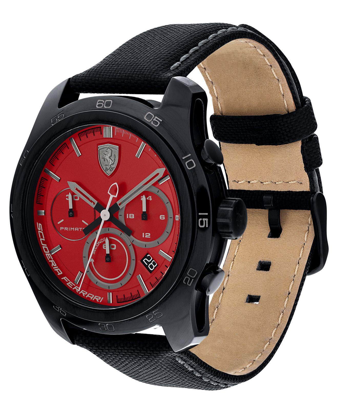 Imagine 1128.0 lei - Ceas Barbati Scuderia Ferrari Watches Model Primato 830447