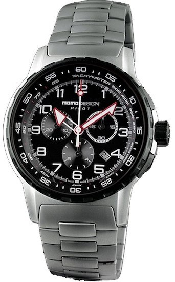 Imagine 1111.0 lei - Ceas Barbati Momo Design Modelpilot Pro Chrono Quarzo