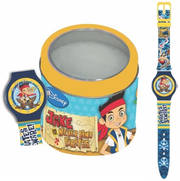 Ceas Junior Walt Disney Kids Model Jake Piratul - Tin box 561149