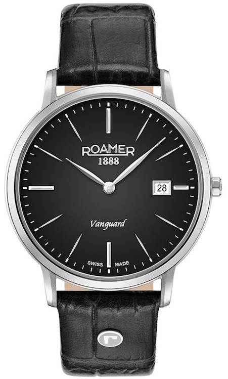Imagine  1209.0 lei - Ceas Barbati Roamer New Collection Model Vanguard Slim Line 979809