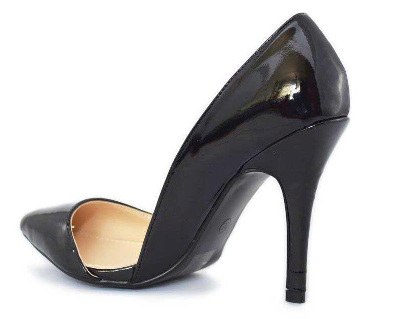Imagine Pantofi Dama Negri Stiletto  - Toc 10 Cm, Model Serendipity