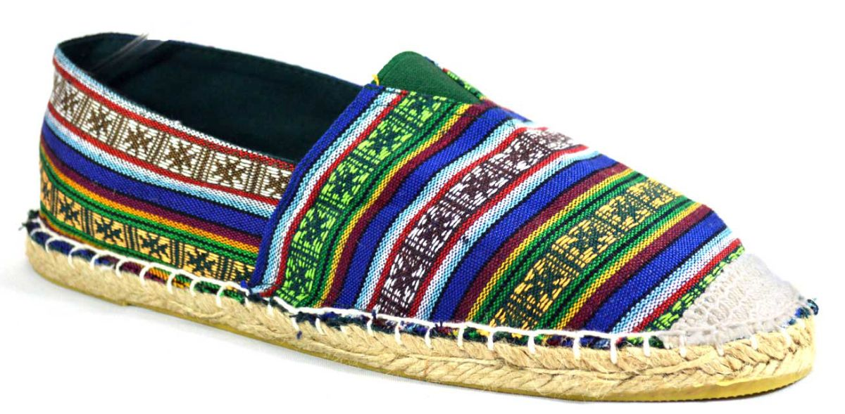 Espadrile barbatesti Verzi, model Colors Full Vintage