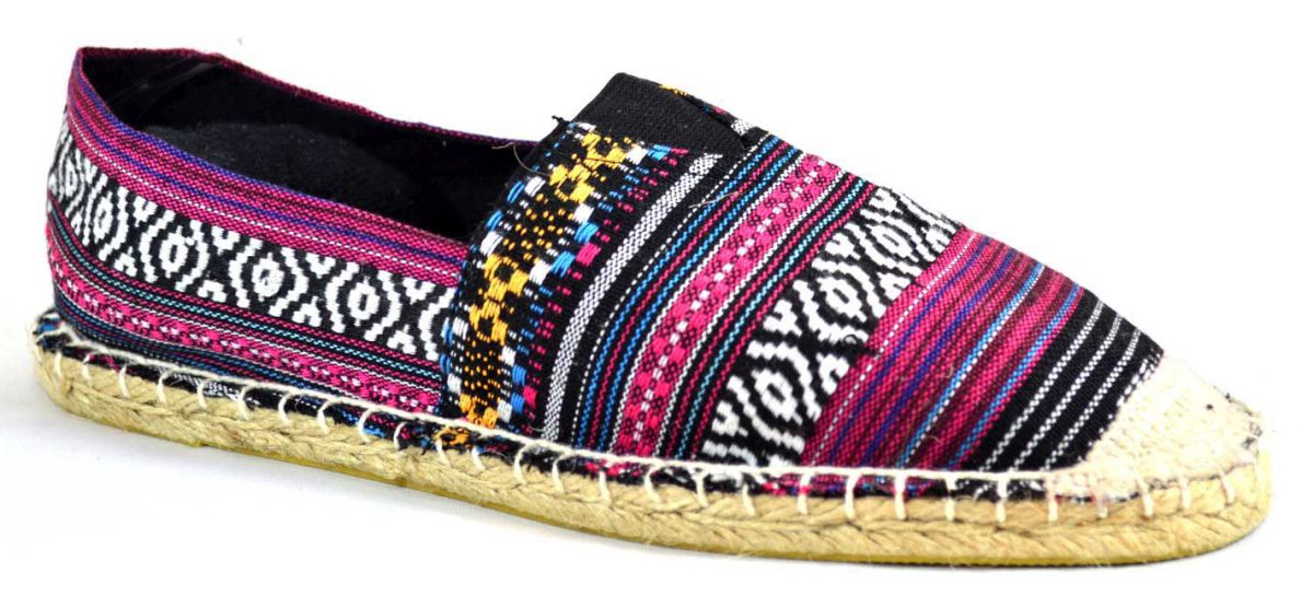 Espadrile barbatesti multicolor 2, model Colors Full Vintage