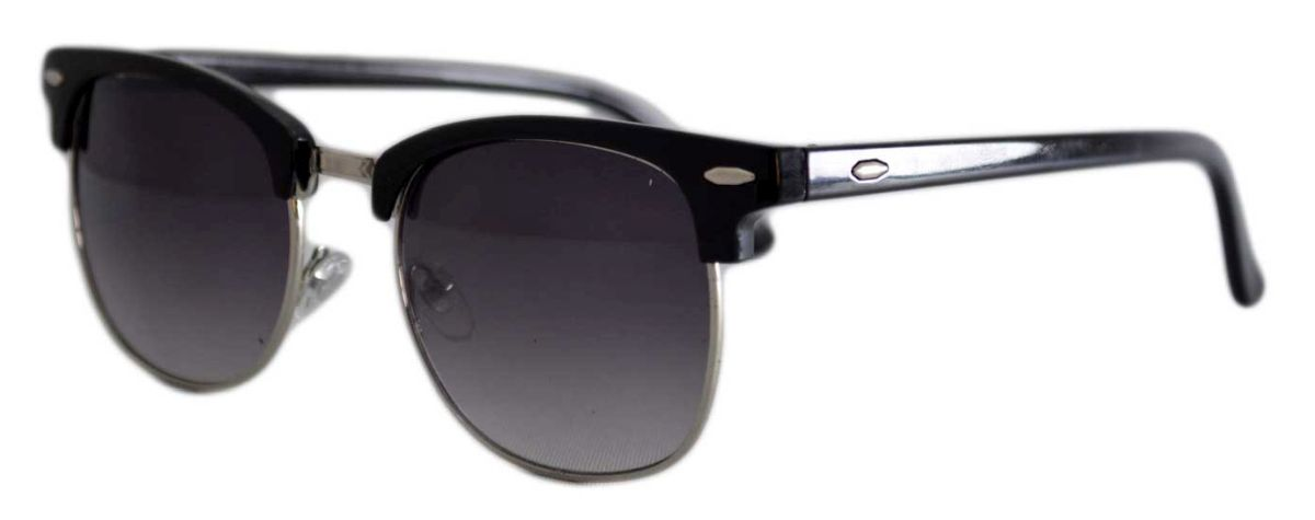 Ochelari de soare Clubmaster Retro Negru - Degrade