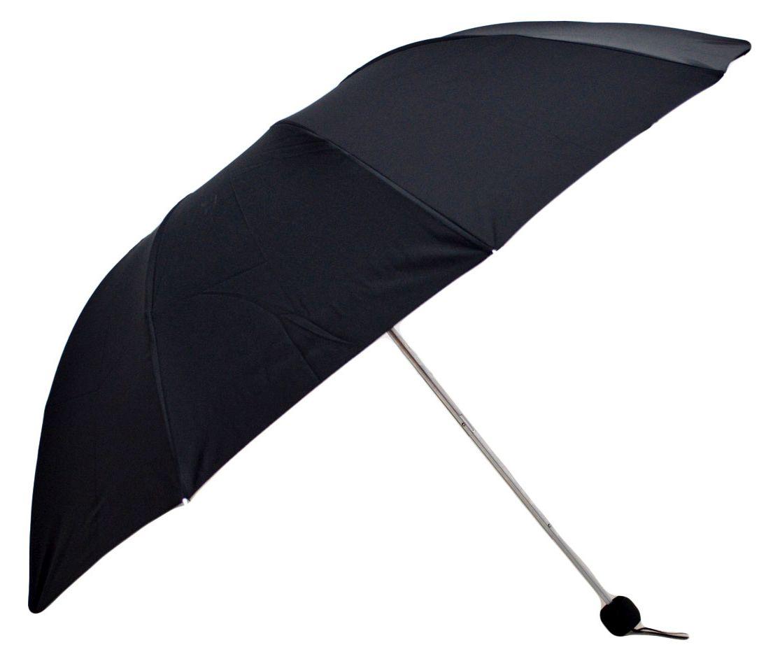 Umbrela Unisex pliabila, neagra, 110cm diametru, articulatii duble pentru rezistenta anti-vant