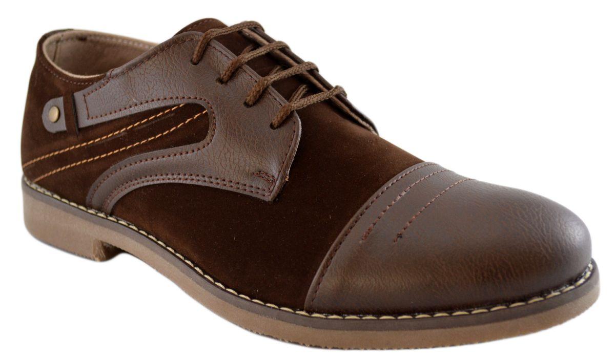 Pantofi Barbatesti Maro cu insertii