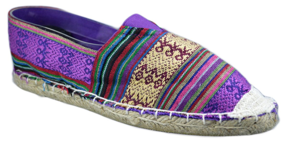 Espadrile Colors Vintage - Multicolor Mov