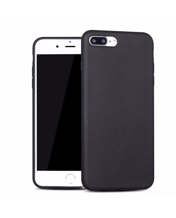 Husa Apple iPhone 8 X-LEVEL Guardian 3D Material Soft, Super Slim - Neagra thumbnail